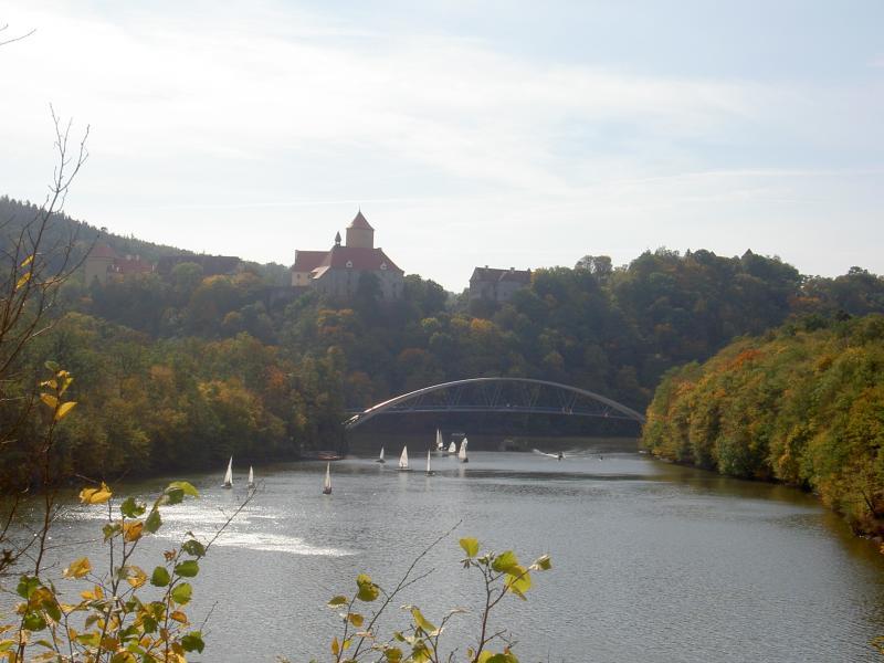 Pěší turistika kolem brněnské přehrady