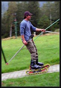 Letní lyžování a minikáry ve Ski-areálu Kareš Loučná nad Desnou