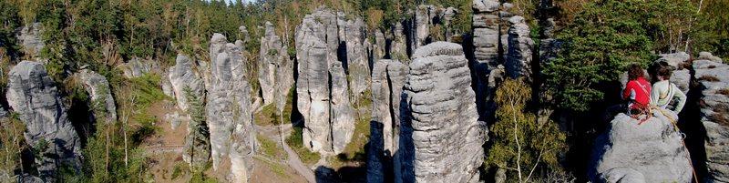 Skalní lezení v Jižních Čechách a na pískovci s horským vůdcem UIAGM