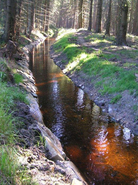 Vodní kanál Dlouhá stoka