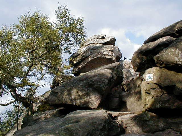 Vrch Devět skal